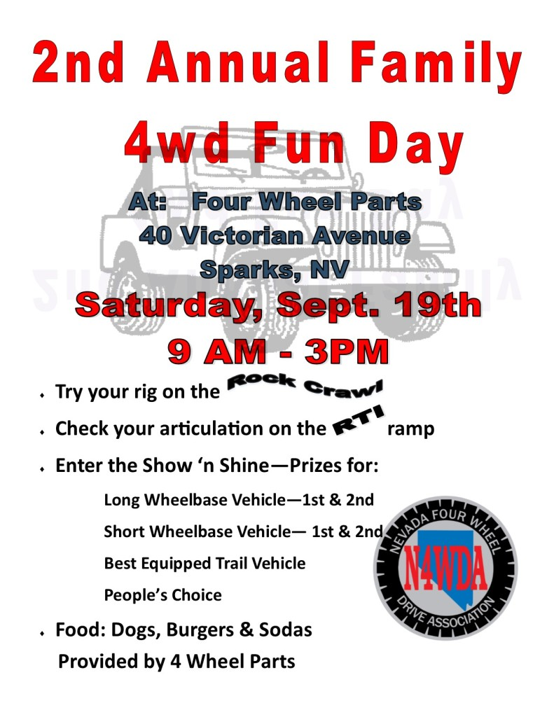 2nd Family Fun Day Flyer